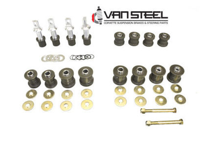 Picture of C6 Delrin Bushing kit  (Steel frame)