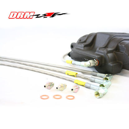 Picture of C5 DRM Stainless Steel Brake Lines