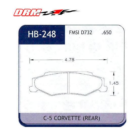 Picture of Rear Hawk DTC 60