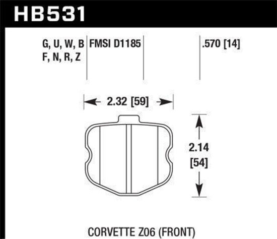 Picture of Hawk Front HPS 5.0 (Padlet)